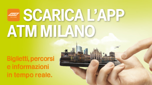 Banner e link a Scarica l'app ATM Milano