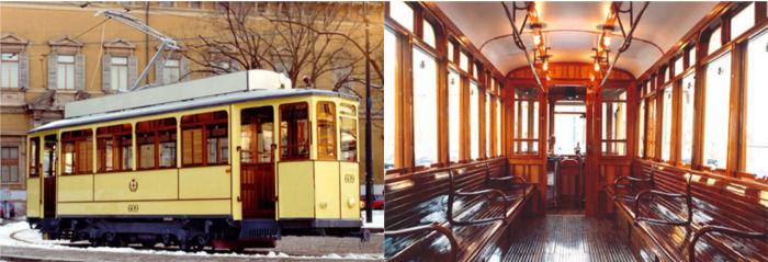 rental  historical tram atm azienda trasporti milanesi
