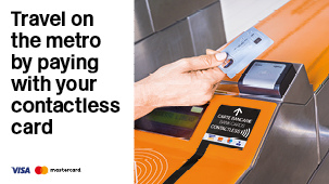 banner and link to contactless page